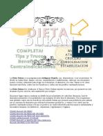 Dieta Dukan Menu Fases Completo PDF Http Www Hagodieta Com