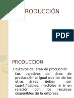 PRODUCCIÓN DE ARTICULOS