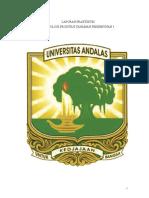 Laporan Praktikum Teknologi Pengolahan Tanaman Perkebunan I