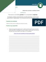 Adquisicion de Datos de Distintas Fuentes