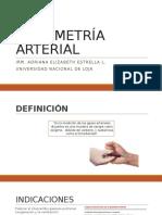 Gasometría Arterial