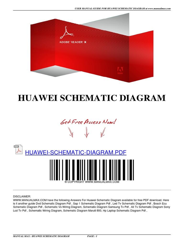 Huawei Schematic Diagram