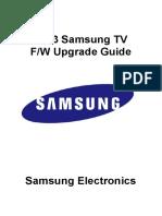 Cara Upgrade TV SAMSUNG