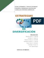 Estretegias de Diversificación