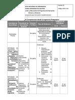 Cronograma Agosto 2016 Diagnostico