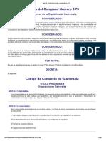 Infile - Decreto Del Congreso 2-70