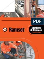 Ramset Anchoring Chemicals Catalogue