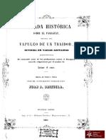Ojeada Histórica sobre el Paraguay, Buenos Aires año 1857
