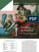La Guitarra Espanola - The Music of Santiago de Murcia - Booklet