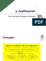 Diseño de Objetivos en Investigación