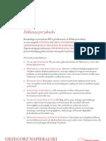 Deklaracja Programowa Grzegorza Napieralskiego