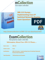 Pass 300-115 Exam With the help of Examcollection Dumps