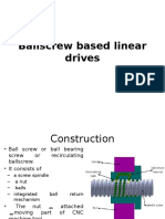 Ballscrew Based Linear Drives