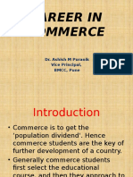 Career in Commerce PPT