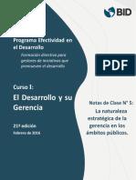 Desarrollo y Su Gerencia- Notas 5-21ª Ed