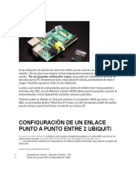Raspberry Pi, Enlace y Ftp