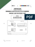 RAS350GA Manual