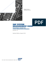 SAP System Measurement