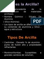 ARCILLAS