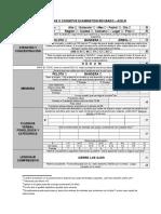 Bateria de Evaluación Ace-r, Mmse, Fab, Fast, Lawton
