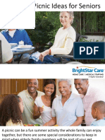 Backyard Picnic Ideas for Seniors