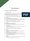 Learnership Agreement