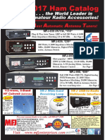 MFJ 2017 Ham Radio Catalog | Antenna (Radio) | Coaxial Cable