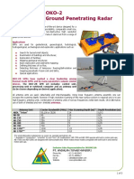 OKO-2 Ground Penetrating Radar