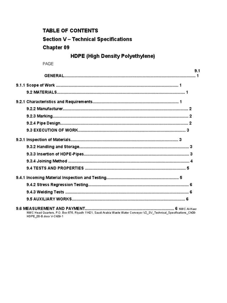 HDPE Pipes | Pipe (Fluid Conveyance) | Polyethylene