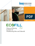 EcoFill Wx Glasswool Insulation Datasheet (1)