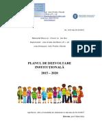 Planul de Dezvoltare Al Scolii 2015 2016