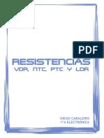 RESISTENCIAS VDR