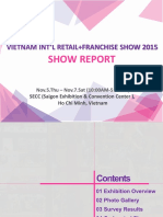 Viet Retail & Franchise Show Report 2015