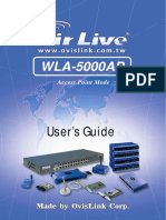 AirLive WLA-5000APv3 SpecSheet