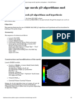 Example of Usage Mesh 3D Algorithms and Hypothesis