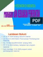 Kebijakan Kesehatan Dan Program Drg HM. Taufiq AK Mkes