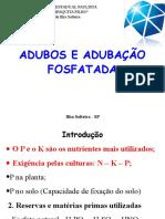 Adubação fosfatada