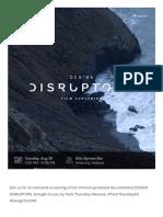 DESIGN DISRUPTORS, Kilkenny _ #DesignDisruptors