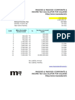 Pakistan Salary Income Tax Calculator Tax Year 2015 20161