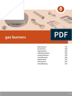 5 Gas Burners