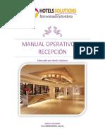 Hotels Solutions Manual Operativo de Recepción