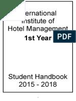 1st Yr Handbook 2015-18