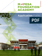 Mpesa Application Form