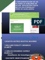 Presentacion Sustentacion Del Proyecto 2003