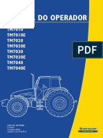 Manual Do Operador Tratores New Holland - Modelo TM 7010, TM 7020, TM 7030 e TM 7040 (2)