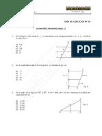 623-MAT 28-E  Guía Ejercicios, Geometría Proporcional II - WEB (1)