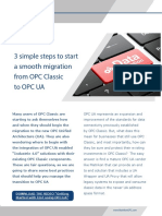 Three Easy Steps Migration OPC-Classic-To-OPCUA 2016