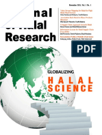 Journal of Halal Research Vol.1 No.1