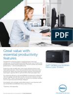 Dell Printer b2360dn Brochure