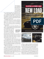 Article Electric car